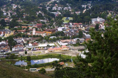 Vista do Morro do Elefante-Pousada-La-Toscana-Campos-do-Jordao